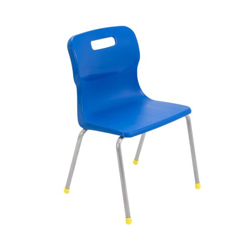 Titan 4 Leg Chair 350mm Blue KF72180