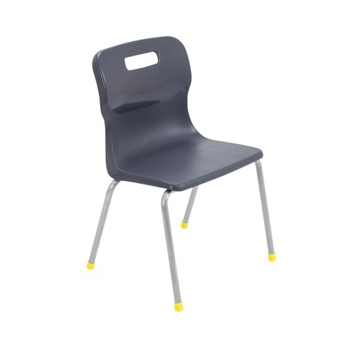 Titan 4 Leg Chair 350mm Charcoal KF72182