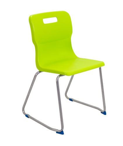 Titan Skid Base Chair Size 6 - 460mm Seat Height - Lime