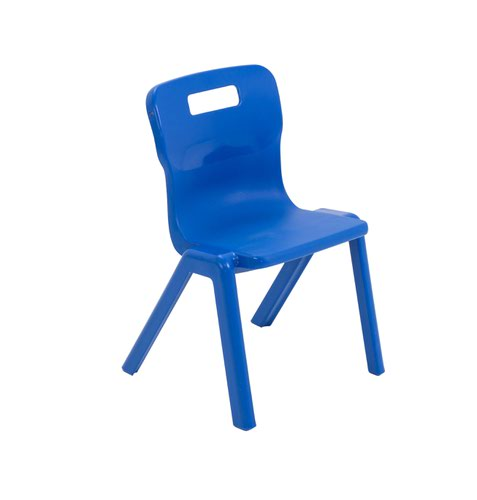 Titan Antibacterial One Piece Chair Size 2 - Blue