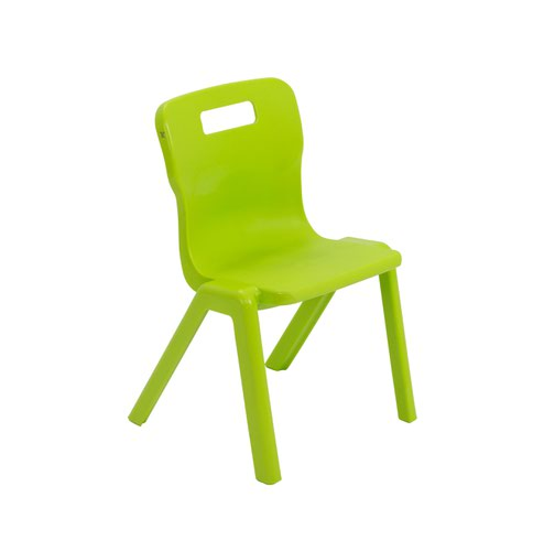 Titan One Piece Chair 310mm Lime (Pack of 30) KF78608