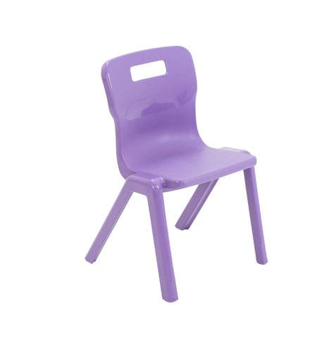 Titan One Piece Chair 310mm Purple (Pack of 30) KF78605