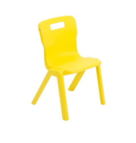 Titan One Piece Chair 310mm Yellow KF72158