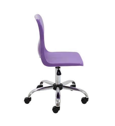 An Swivel Senior Chair Purple