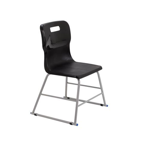 Titan High Chair Size 2 - 395mm Seat Height - Black