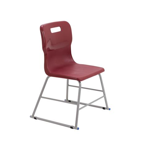 Titan High Chair Size 2 - 395mm Seat Height - Burgundy