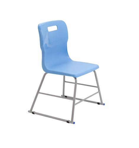 Titan High Chair Size 2 - 395mm Seat Height - Sky Blue