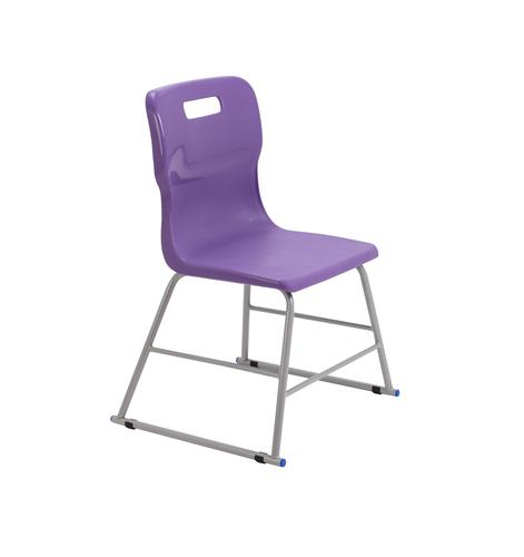 Titan High Chair Size 2 - 395mm Seat Height - Purple