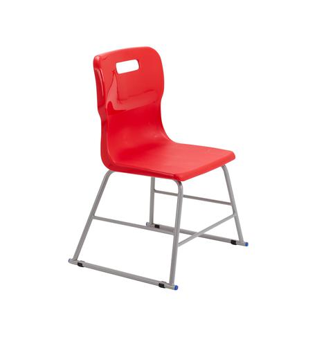 Titan High Chair Size 2 - 395mm Seat Height - Red