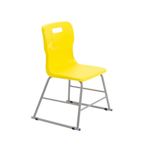 Titan High Chair Size 2 - 395mm Seat Height - Yellow