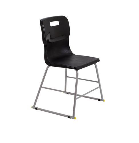Titan High Chair Size 3 - 445mm Seat Height - Black