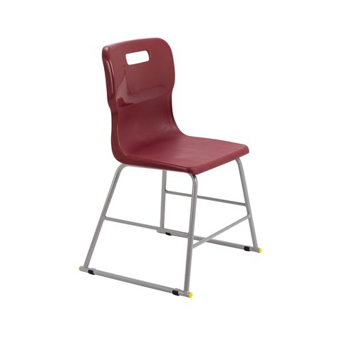 Titan High Chair Size 3 - 445mm Seat Height - Burgundy