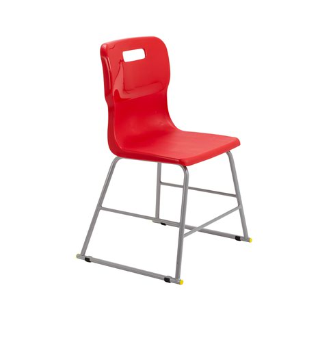 Titan High Chair Size 3 - 445mm Seat Height - Red