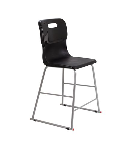 Titan High Chair Size 4 - 560mm Seat Height - Black