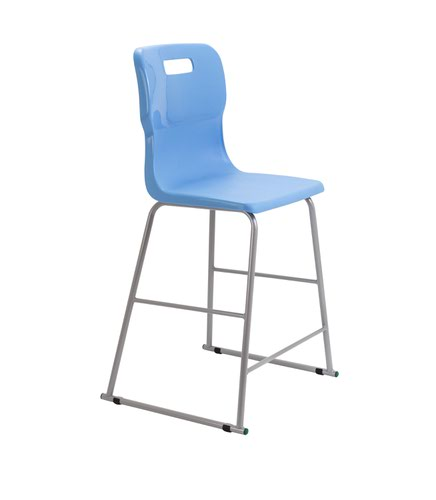 Titan High Chair Size 5 - 610mm Seat Height - Sky Blue