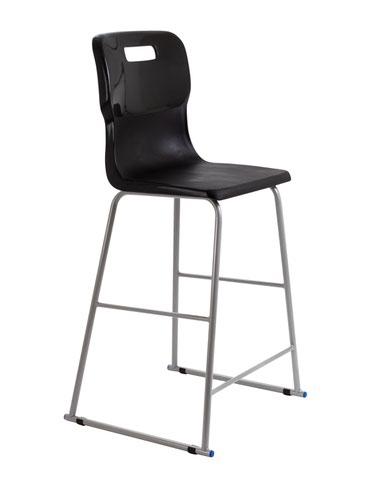 Titan High Chair Size 6 - 685mm Seat Height - Black