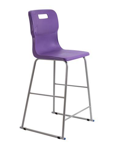 Titan High Chair Size 6 - 685mm Seat Height - Purple