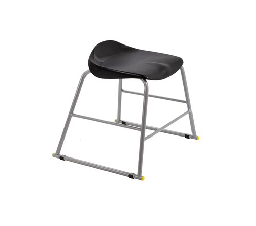 Titan Stool Size 3 - 445mm Seat Height - Black