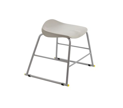 Titan Stool Size 3 - 445mm Seat Height - Grey