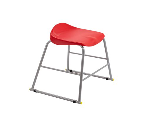 Titan Stool Size 3 - 445mm Seat Height - Red