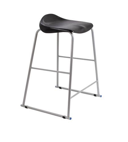 Titan Stool Size 6 - 685mm Seat Height - Black