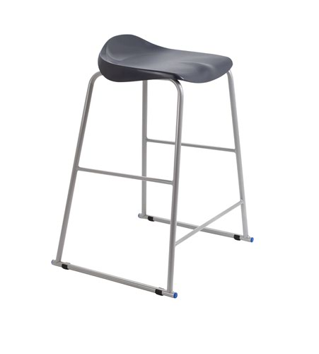 Titan Stool Size 6 - 685mm Seat Height - Charcoal