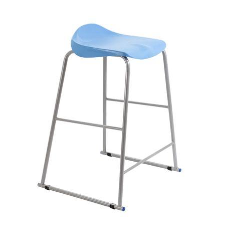 Titan Stool Size 6 - 685mm Seat Height - Sky Blue