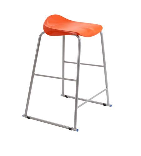 Titan Stool Size 6 - 685mm Seat Height - Orange