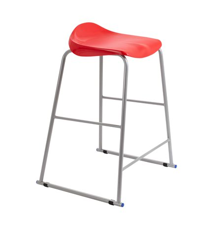 Titan Stool Size 6 - 685mm Seat Height - Red