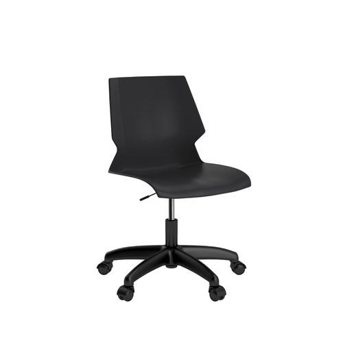 Titan Uni Swivel Chair - Black