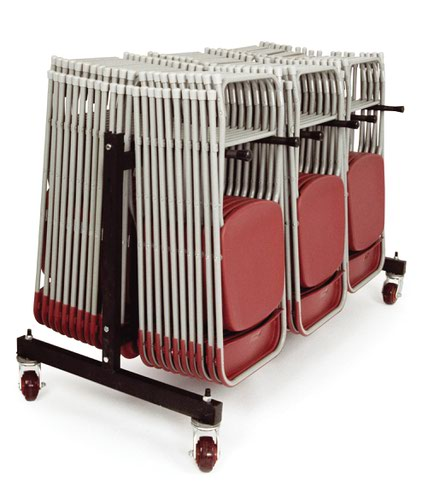 Folding Chair Trolley To Hold 70 Folding Chairs