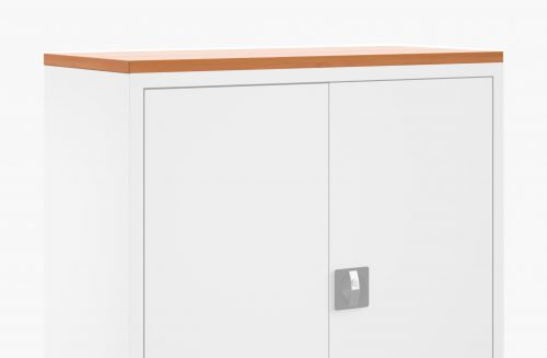 Talos Cupboard Wooden Top Beech W1000 x D450 x H25mm TCS-CUP-TOPBE