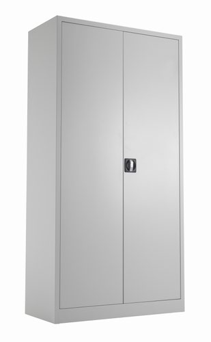 TC Steel Double Door Cupboard 1790 Grey