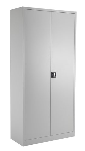 TC Steel Double Door Cupboard 1950 Grey