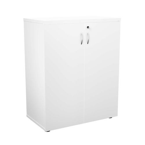 FF First Wooden Storage Cupboard 1000mm White WDS1045CPWH