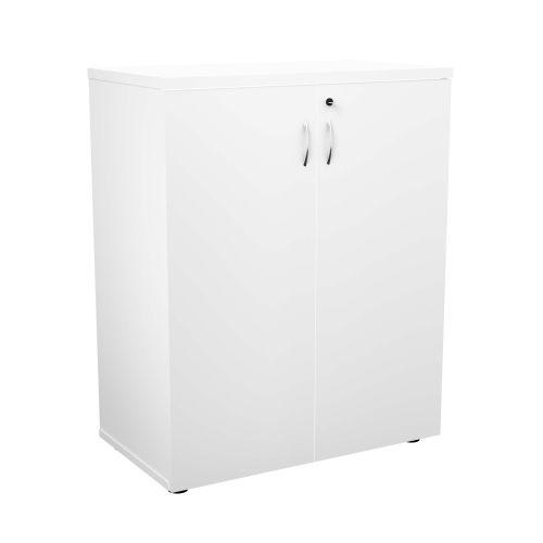 FF First Wooden Storage Cupboard 1000mm White WDS1045CPWH