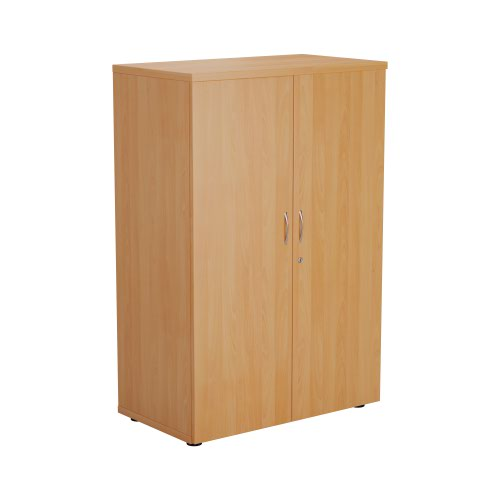 FF First Wooden Storage Cupboard 1200mm Beech WDS1245CPBE