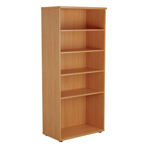 1800 Wooden Bookcase (450mm Deep) Beech