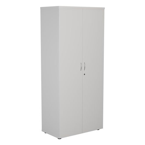 FF First Wooden Storage Cupboard 1800mm White WDS1845CPWH
