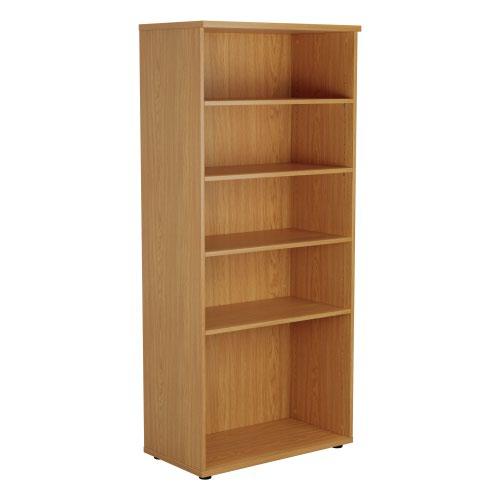 1800 Wooden Bookcase (450mm Deep) Nova Oak