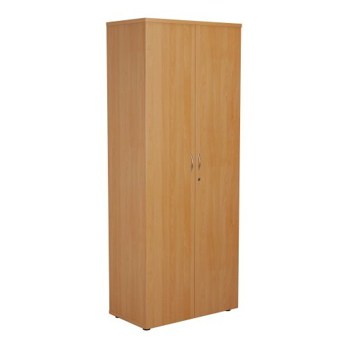 FF First Wooden Storage Cupboard 2000mm Beech WDS2045CPBE