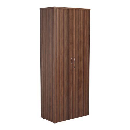 2000 Wooden Cupboard (450mm Deep) Dark Walnut