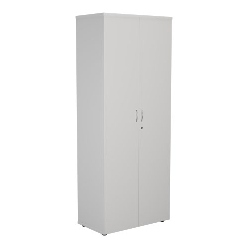 FF First Wooden Storage Cupboard 2000mm White KF821014