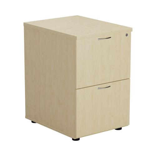 2 Drawer Filing Cabinet - Maple