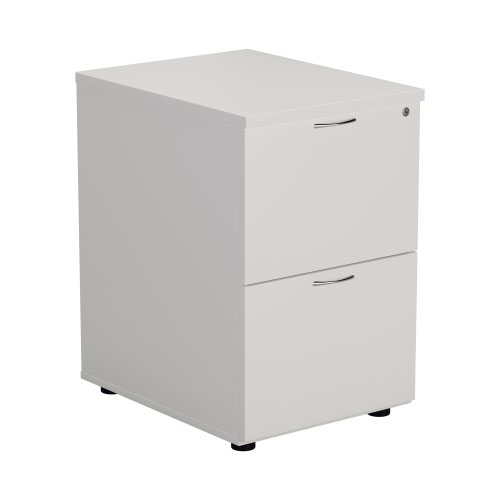 First White 2 Drawer Filing Cabinet KF79919