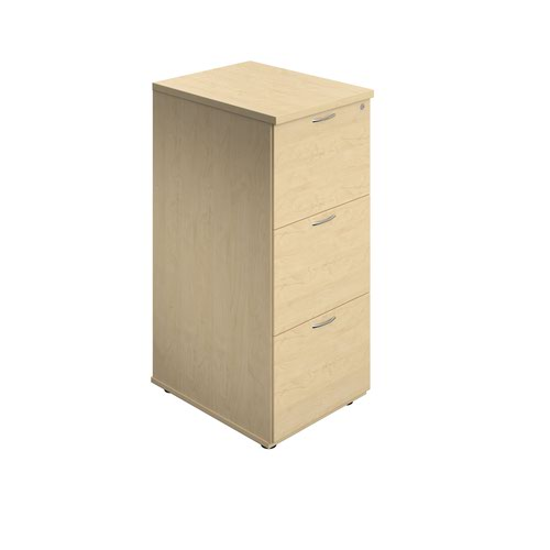 3 Drawer Filing Cabinet - Maple