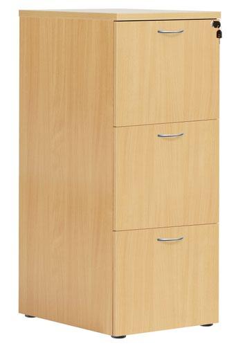 3 Drawer Filing Cabinet - Nova Oak