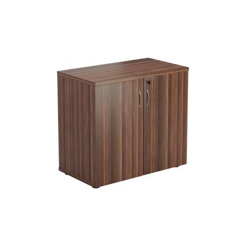 700 Wooden Cupboard (450mm Deep) Dark Walnut