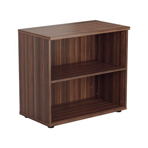 700 Wooden Bookcase (450mm Deep) Dark Walnut