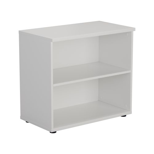 700 Wooden Bookcase (450mm Deep) White